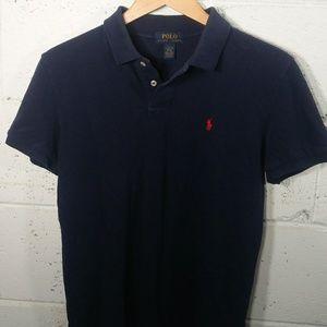 Polo Ralph Lauren | Navy Women's Polo Shirt L